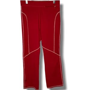 ATHLETE IRONMAN for ZORREL Red Yoga Pants SZ M